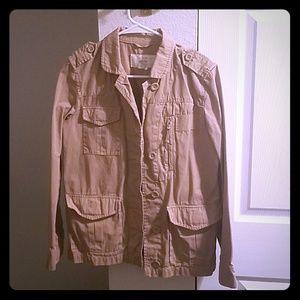 J. Crew classic twill chino field jacket
